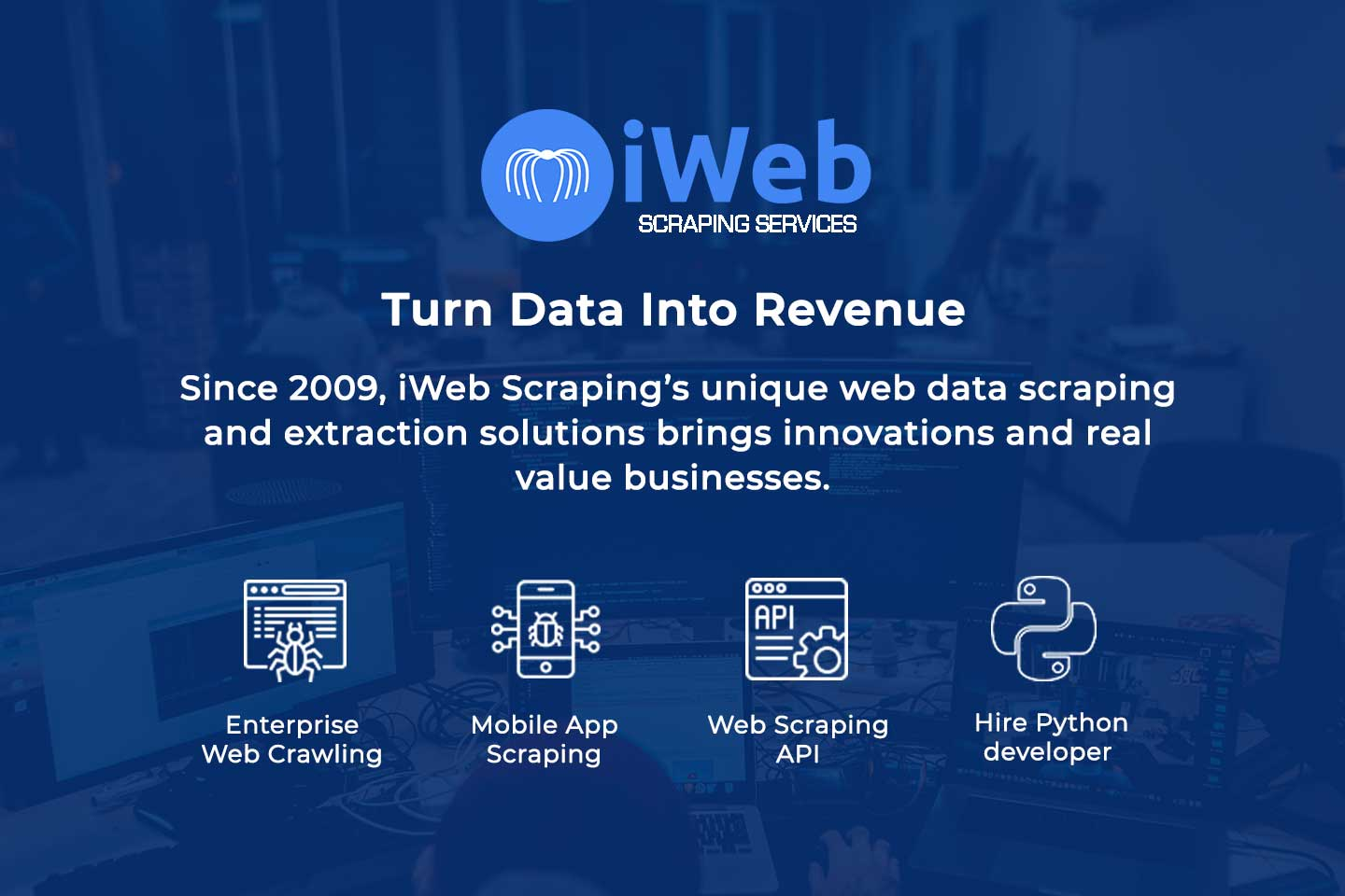 iWeb Scraping Services